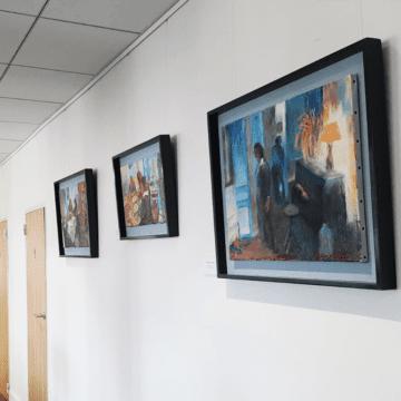 Servyr International accueille l'exposition Impression déconfinée